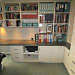 study cabinetry joinery Ballarat designer open shelves