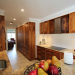 blackwood timber stone bench storage designer cabinetry joinery Ballarat