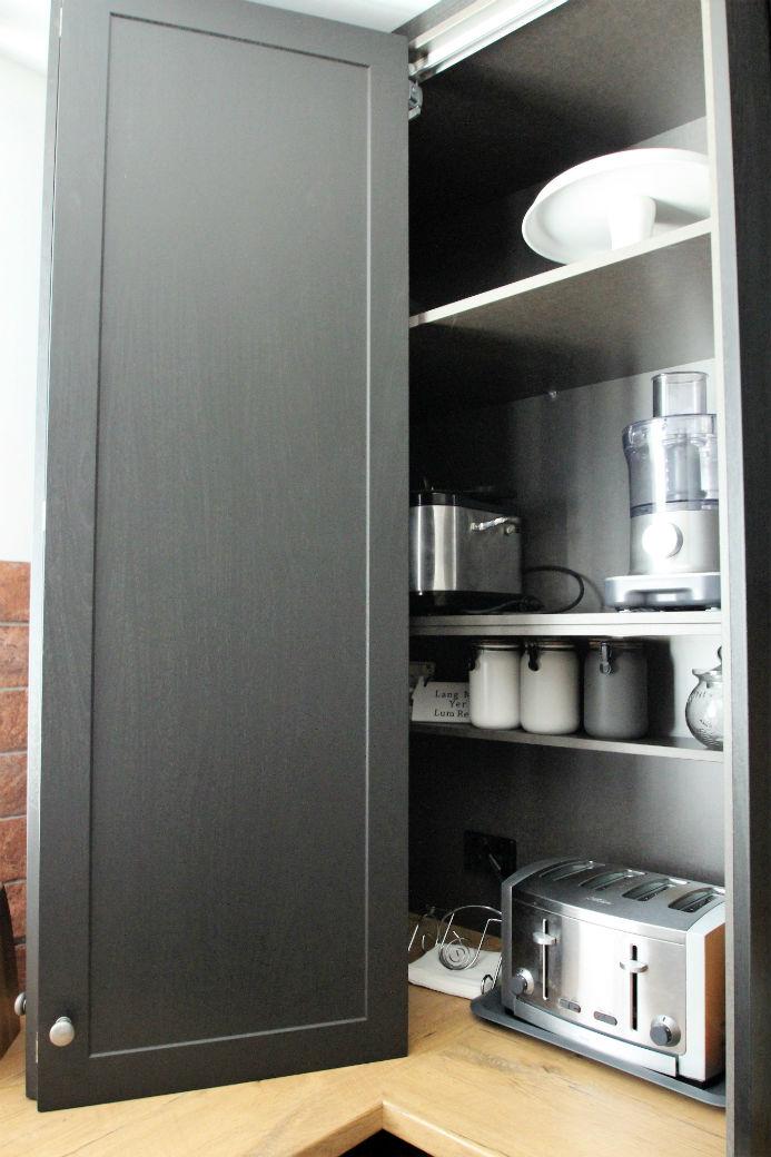 Appliance Cabinet Open Pauline Ribbans Design Kitchen Design