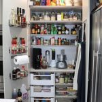 KITCHEN Well appointed pantry in a blind corner