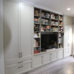 Bookcase and TV Unit with storage Cabinets